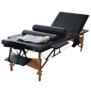 """Reinforcement 84""""L Professional Massage Table, Adjustable Portable Folding Massage Bed for Salon Beauty Physiotherapy Facial SPA Tattoo Household"""