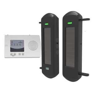 HTZSAFE Solar Wireless Driveway Alarm