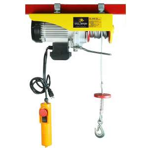 Steel Dragon Tools 880Lbs Mini Electric Wire Cable Hoist