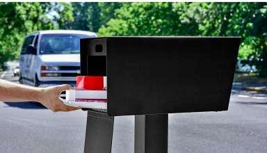 Plastic Mailboxes