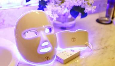 image feature LED face masks