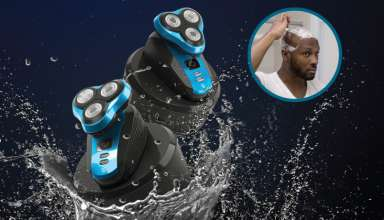 image feature electric head shavers