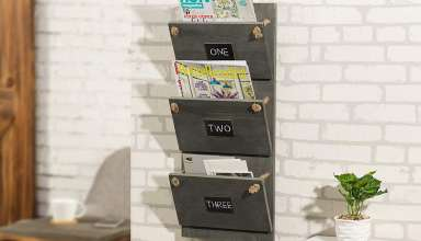 image feature wall file organizers
