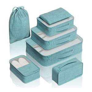 EVEK Different Set compression packing cubes