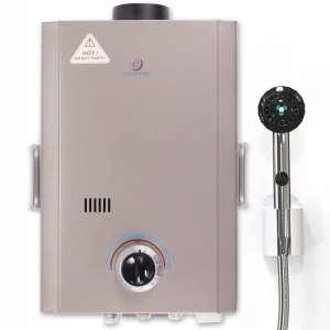 Eccotemp Outdoor 1.7 GPM 41,000 BTU Liquid Propane Portable Tankless Water Heater
