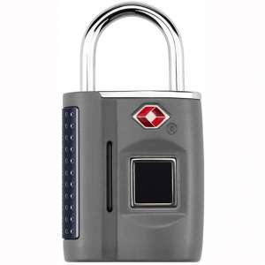 Smart Fingerprint Padlock, Anti-Theft Keyless Biometric Security Lock USB Charging Waterproof Suitable for House Door And Suitcase
