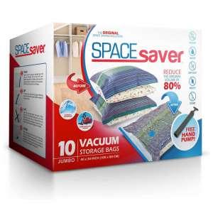 Spacesaver Premium Vacuum Double-Zip Seal Storage Bags with Hand Pump