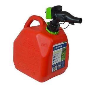 Scepter Gas Can with a Spill-Proof Spout, Red