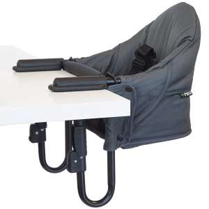 guzzie+Guss Perch Clip On Table Chair – Easy and Secure Setup for Travel (Including Restaurants, Picnics)