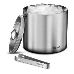 Gourmia GIB9385 Ice Bucket w/ Tongs – Elegant Gift