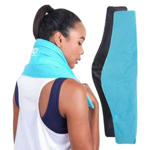 ICEWRAPS Neck and Shoulder 7 x 28-Inches Reusable Ice Pack
