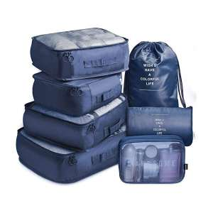 Travel VAGREEZ Travel Luggage compression Packing Cubes
