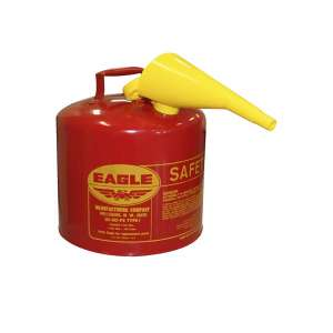 Eagle UI-50-FS Gas Can with Funnel