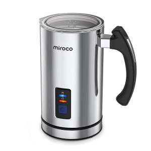 Miroco 120V Stainless Steel Milk Frother