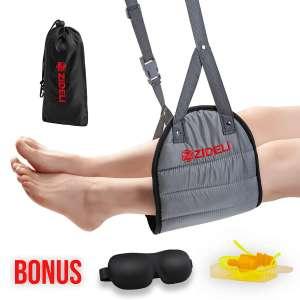 ZIDELI Portable Hammock Airplane Footrests