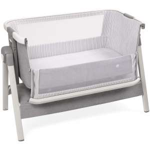 Bed Side Crib for Baby - Sleeper Bassinet Includes Travel Case, Mattress, Sheet, and Urine Pad - Keep Newborn Babies Close in Bed