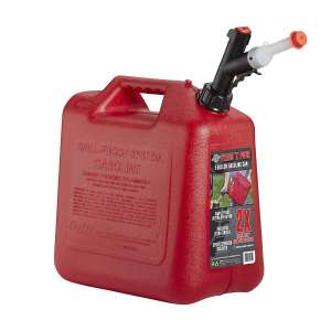 GARAGE BOSS GB351 Gas Can, Red