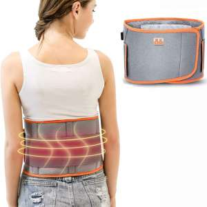 Lzour Electric Vibrating Slimming Belt Massage with Heating