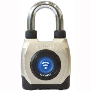 eGeeTouch Outdoor Smart Padlock 3rd Gen, Weatherproof, Rugged Design for Commercial use