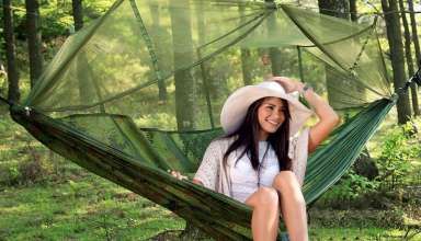 image feature Hammocks with Mosquito Nets