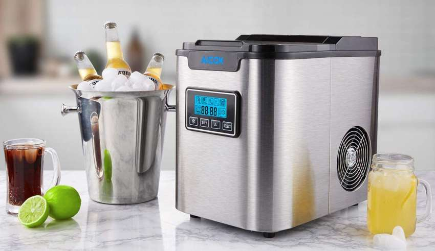 image feature countertop ice maker