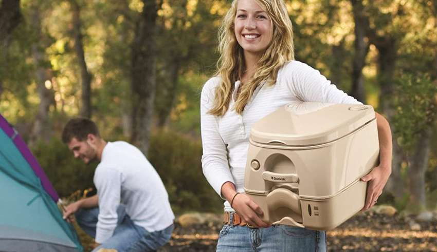 image feature portable toilets