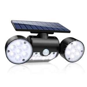 GoerTek 30 LED IP65 Waterproof Dual Head Solar Flood Light