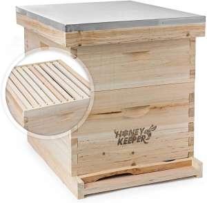 Honey Keeper Bee Hive 20 Frame Complete Box Kit