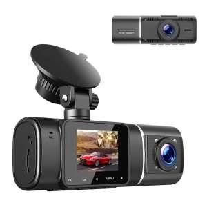TOGUARD HD Dual Dash Cam w/ IR Night Vision