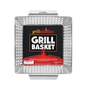 Grillaholics Heavy-Duty Grilling Basket