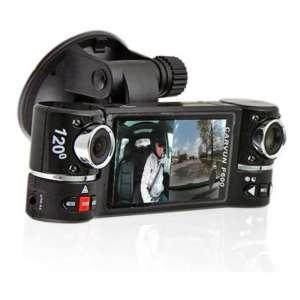 inDigi New! 2.7-inches TFT LCD Dual Dash Cam