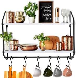 BOLUO Kitchen Wall Floating Shelf