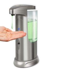 Hanamichi Soap Dispenser High Capacity Touchless Bathroom Kitchen Automatic Soap Dispenser