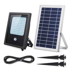 SunBonar Solar Motion 1000 Lumens 120 LED Solar Flood Light