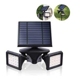 EMANER Motion Sensor Solar Flood Light
