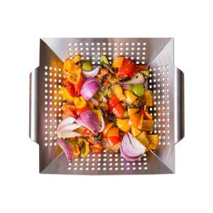 Luxury Grill Products Grilling Basket
