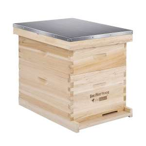 VIVOHOME Wooden 20 Frames Honey Bee Hive