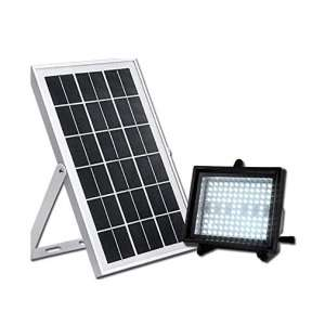 Bizlander Commercial Grade Solar Flood 108 LED Security Light