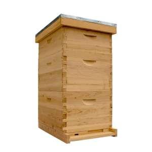 NuBee Hive Bee Hive Wax Coated Complete Kit