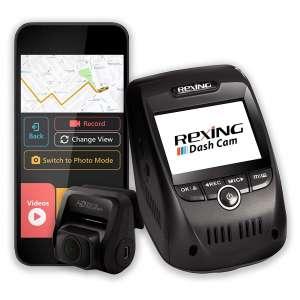 Rexing V1P Pro 1080p Full HD Dual Car Dash Cam