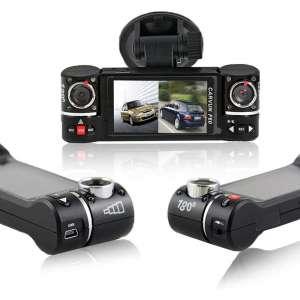 inDigi New 2.7-InchesTFT LCD Dual Dash Cam
