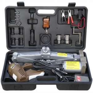 Electric Car Jack,Adjustable 5 Ton 12 V Automatic Electric Jack Scissor Lift Garage Auto Tire Repair Tools