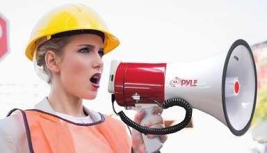 image feature megaphone speaker