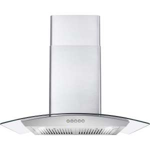 Cosmo COS-668WRC75 30 in. Wall Mount Range Hood with 760 CFM
