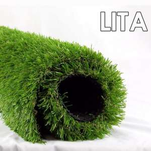 LITA Premium Artificial Grass 28 in x 40 in (7.7 Square FT) Realistic Fake Grass Deluxe Turf Synthetic Turf Thick Lawn Pet Turf -Perfect
