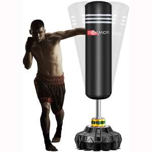 PEXMOR Freestanding Punching Bag Heavy Solid Boxing Bag with Suction Cup Armor Base & Noise Vibration Absorption Device for Adult Youth