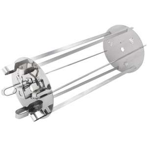 onlyfire Stainless Steel Rotating Skewer System Fits for Most Rotisserie Grill