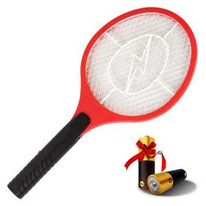 AsisNai 3000 Volt Bug Zapper Racket