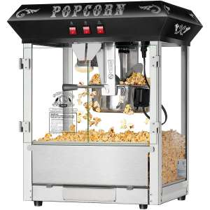 Hot and Fresh Countertop Style Popcorn Popper Machine-Makes Approx