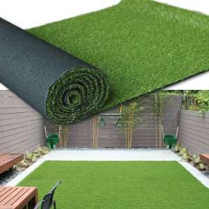 Premium Synthetic Artificial Grass Turf 1.38inch Pile Height 3FTX10FT, High Density Fake Faux Grass Turf